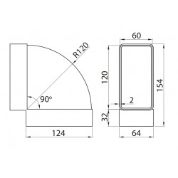450 • Multivent • 120x60 mm • Vents • TANIA PROFESJONALNA WYSYŁKA