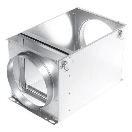 Kasetowy filtr kanałowy z wkładami kieszeniowymi  FBB