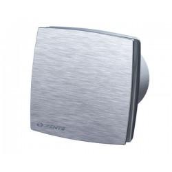 Wentylator łazienkowy (osiowy) seria LDA, szczotkowane aluminium