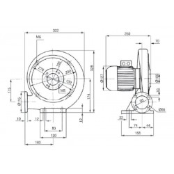 MPA 03 S • wentylator promieniowy • 410 m3/h • PROFESJONALNA WYSYŁKA • BEZPIECZEŃSTWO ZAKUPÓW • INDYWIDUALNE RABATY W SKLEPIE