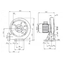 Venture MPA 25 T • wentylator promieniowy • 360 m3/h • PROFESJONALNA WYSYŁKA • BEZPIECZEŃSTWO ZAKUPÓW • INDYWIDUALNE RABATY W