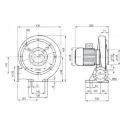 Venture MPA 50 T • wentylator promieniowy • 690 m3/h • PROFESJONALNA WYSYŁKA • BEZPIECZEŃSTWO ZAKUPÓW • INDYWIDUALNE RABATY W