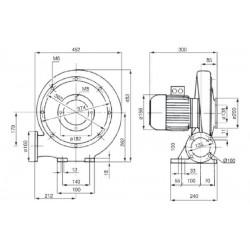 Venture MPA 80 T • wentylator promieniowy • 700 m3/h • PROFESJONALNA WYSYŁKA • BEZPIECZEŃSTWO ZAKUPÓW • INDYWIDUALNE RABATY W