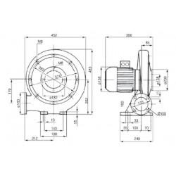 Venture MPA 90 S • wentylator promieniowy • 1100 m3/h • PROFESJONALNA WYSYŁKA • BEZPIECZEŃSTWO ZAKUPÓW • INDYWIDUALNE RABATY