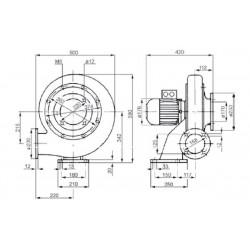 Venture MPA 160 T  • wentylator promieniowy • 2170 m3/h • PROFESJONALNA WYSYŁKA • BEZPIECZEŃSTWO ZAKUPÓW • INDYWIDUALNE RABAT