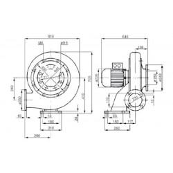 Venture MPA 290 T  • wentylator promieniowy • 3100 m3/h • PROFESJONALNA WYSYŁKA • BEZPIECZEŃSTWO ZAKUPÓW • INDYWIDUALNE RABAT