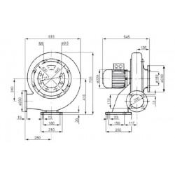 Venture MPA 350 T  • wentylator promieniowy • 4000 m3/h • PROFESJONALNA WYSYŁKA • BEZPIECZEŃSTWO ZAKUPÓW • INDYWIDUALNE RABAT