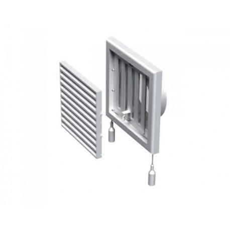 Kratka wentylacyjna nawiewno-wywiewna z regulowaną żaluzją przepływu powietrza seria WP FMV 120 VR