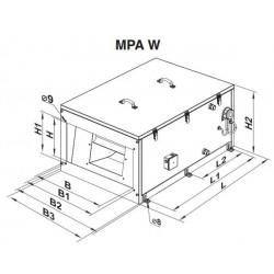 MPA 2500 W A13 • Vents • PROFESJONALNA WYSYŁKA • INDYWIDUALNE RABATY W SKLEPIE