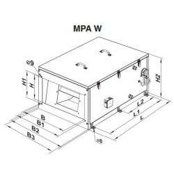 MPA 5000 W A13 • Vents • PROFESJONALNA WYSYŁKA • INDYWIDUALNE RABATY W SKLEPIE