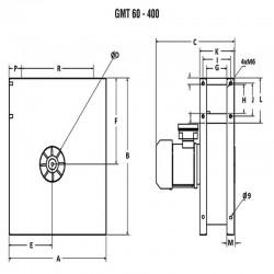 Wentylator promieniowy średniociśnieniowy GMT-80-037S  • PROFESJONALNA WYSYŁKA • INDYWIDUALNE RABATY W SKLEPIE • 690 912 712