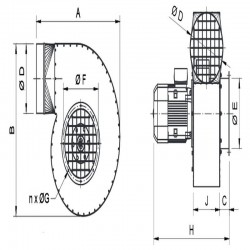 Wentylator promieniowy stanowiskowy WPA-7-E-1-N  • PROFESJONALNA WYSYŁKA • INDYWIDUALNE RABATY W SKLEPIE • 690 912 712