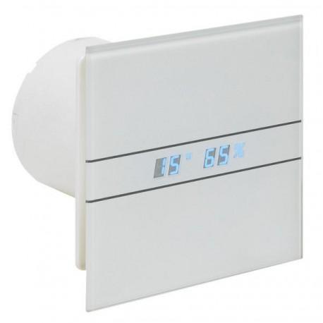 Wentylator łazienkowy (osiowy) ENSO, szklany panel frontowy