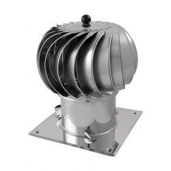 Turbowent podstawa kwadratowa stała Ø150-300 TUOCAL