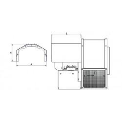 Osłona silnika wentylatora promieniowego GMT-900  • PROFESJONALNA WYSYŁKA • INDYWIDUALNE RABATY W SKLEPIE • 690 912 712