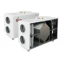 Rekuperator z nagrzewnicą elektryczną RIS HE EKO 3.0 (poziomy)
