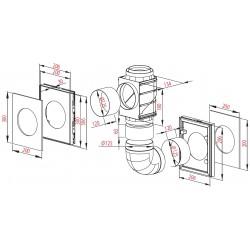 Hybrydowy system wentylacji - Awenta - Seria Awentis II A