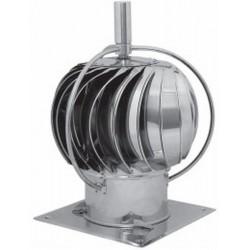 Turbowent z zewnętrznym łożyskiem podstawa kwadratowa-(OTWIERANA)