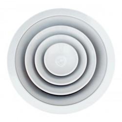 Anemostat nawiewny-wywiewny aluminiowy okrągły CK DS