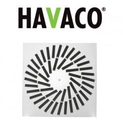 Anemostat kwadratowy - Havaco - Seria SA-C