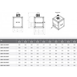 Wentylator kuchenny - Harmann - Qbox 355/4300T