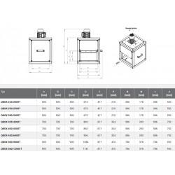 Wentylator kuchenny - Harmann - Qbox 560/1200T