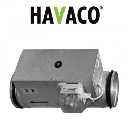 Elektryczne nagrzewnice kanałowe ECH-NI PTX/PSX