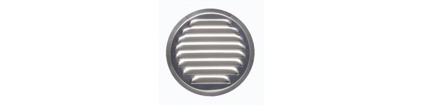 Kratki wentylacyjne okragle metalowe